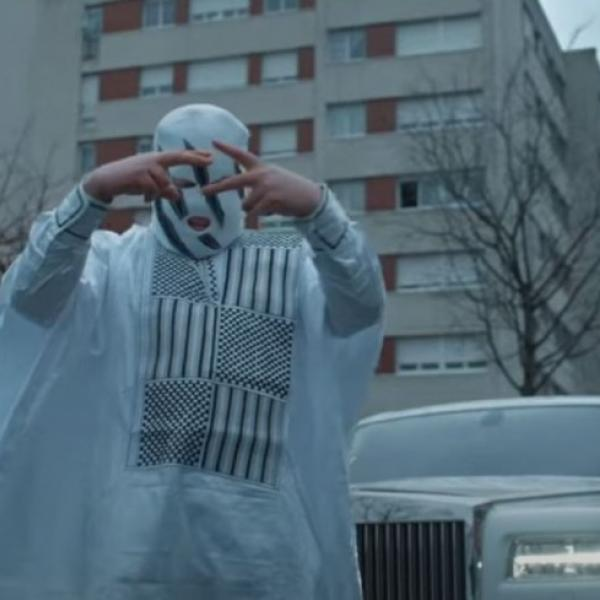 Kalash Criminel, photo du clip de son nouveau single, «La main».